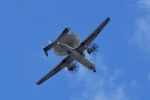 飛行機ゆうちゃんさんが、厚木飛行場で撮影したアメリカ海軍 E-2D Advanced Hawkeyeの航空フォト(写真)