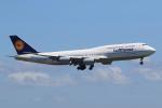 気分屋さんが、羽田空港で撮影したルフトハンザドイツ航空 747-830の航空フォト(飛行機 写真・画像)