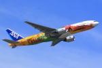 気分屋さんが、羽田空港で撮影した全日空 777-281/ERの航空フォト(飛行機 写真・画像)