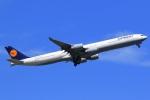 気分屋さんが、羽田空港で撮影したルフトハンザドイツ航空 A340-642の航空フォト(飛行機 写真・画像)