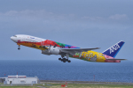 yabyanさんが、中部国際空港で撮影した全日空 777-281/ERの航空フォト(飛行機 写真・画像)