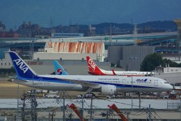 HISAHIさんが、福岡空港で撮影した全日空 787-9の航空フォト(飛行機 写真・画像)