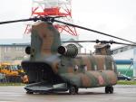 ここはどこ?さんが、札幌飛行場で撮影した陸上自衛隊 CH-47JAの航空フォト(飛行機 写真・画像)