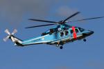 sin747さんが、成田国際空港で撮影した千葉県警察 AW139の航空フォト(写真)