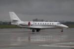 北の熊さんが、新千歳空港で撮影したノエビア 680 Citation Sovereignの航空フォト(写真)