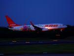 ladyinredさんが、成田国際空港で撮影したチェジュ航空 737-8ASの航空フォト(写真)