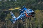 アミーゴさんが、松本空港で撮影した長野県警察 AS365N3 Dauphin 2の航空フォト(写真)
