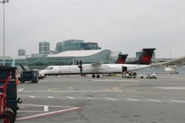 ババックンさんが、トロント・ピアソン国際空港で撮影したジャズ・エア DHC-8-402Q Dash 8の航空フォト(飛行機 写真・画像)