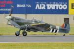 ちゃぽんさんが、フェアフォード空軍基地で撮影したイギリス空軍 Spitfireの航空フォト(飛行機 写真・画像)