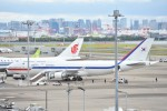 B747‐400さんが、羽田空港で撮影した大韓民国空軍 747-4B5の航空フォト(写真)