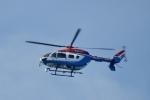 飛行機ゆうちゃんさんが、東京ヘリポートで撮影した川崎市消防航空隊 BK117C-2の航空フォト(写真)