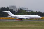 hiroki_h2さんが、成田国際空港で撮影したネットジェッツ・エイビエーション BD-700 Global Express/5000/6000の航空フォト(写真)