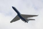 つっさんさんが、関西国際空港で撮影したラスベガス サンズ G-V Gulfstream Vの航空フォト(写真)