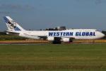 たみぃさんが、成田国際空港で撮影したウエスタン・グローバル・エアラインズ 747-446(BCF)の航空フォト(写真)