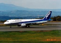 marariaさんが、青森空港で撮影したエアーニッポン A320-211の航空フォト(飛行機 写真・画像)