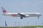 ちゃぽんさんが、羽田空港で撮影した日本航空 767-346/ERの航空フォト(写真)