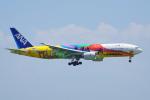 ちゃぽんさんが、羽田空港で撮影した全日空 777-281/ERの航空フォト(写真)