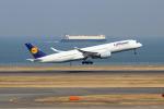 szkkjさんが、羽田空港で撮影したルフトハンザドイツ航空 A350-941XWBの航空フォト(写真)