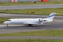 青春の1ページさんが、関西国際空港で撮影したウィルミントン・トラスト・カンパニー CL-600-2B19 Regional Jet CRJ-100SEの航空フォト(飛行機 写真・画像)
