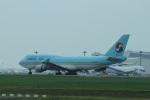 garrettさんが、成田国際空港で撮影した大韓航空 747-4B5の航空フォト(写真)