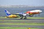 よしポンさんが、羽田空港で撮影した全日空 777-281/ERの航空フォト(写真)