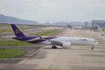 kikiさんが、関西国際空港で撮影したタイ国際航空 A350-941XWBの航空フォト(写真)
