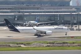 wingace752さんが、バスティア・ポレッタ国際空港で撮影したルフトハンザドイツ航空 A350-941の航空フォト(飛行機 写真・画像)
