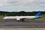 T.Sazenさんが、成田国際空港で撮影したガルーダ・インドネシア航空 777-3U3/ERの航空フォト(写真)