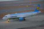 みのフォトグラファさんが、中部国際空港で撮影したウズベキスタン航空 A320-214の航空フォト(写真)