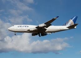 garrettさんが、成田国際空港で撮影したユナイテッド航空 747-422の航空フォト(飛行機 写真・画像)