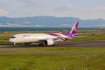 ふくそうじさんが、関西国際空港で撮影したタイ国際航空 A350-941XWBの航空フォト(写真)