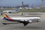 masa0420さんが、羽田空港で撮影したアシアナ航空 A330-323Xの航空フォト(飛行機 写真・画像)