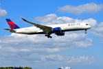 mojioさんが、成田国際空港で撮影したデルタ航空 A350-941XWBの航空フォト(写真)