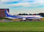 万華鏡AIRLINESさんが、成田国際空港で撮影した全日空 767-381/ERの航空フォト(写真)