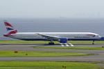 tkosadaさんが、羽田空港で撮影したブリティッシュ・エアウェイズ 777-36N/ERの航空フォト(写真)