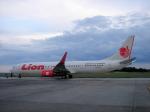 yabyanさんが、セピンガン国際空港で撮影したライオン・エア 737-9GP/ERの航空フォト(飛行機 写真・画像)