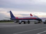 yabyanさんが、セピンガン国際空港で撮影したスリウィジャヤ航空 737-2B7/Advの航空フォト(写真)
