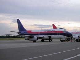 yabyanさんが、セピンガン国際空港で撮影したスリウィジャヤ航空 737-2B7/Advの航空フォト(飛行機 写真・画像)