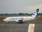yabyanさんが、セピンガン国際空港で撮影したエクスプレス・エア 737-284/Advの航空フォト(写真)