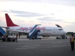 yabyanさんが、セピンガン国際空港で撮影したシティリンク 737-3L9の航空フォト(写真)