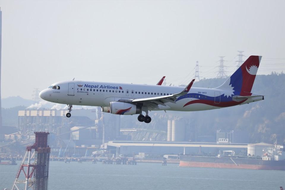 A350XWB-HNDさんのネパール航空 Airbus A320 (9N-AKX) 航空フォト
