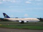 yabyanさんが、スカルノハッタ国際空港で撮影したサウジアラビア王国政府 747の航空フォト(飛行機 写真・画像)