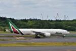 T.Sazenさんが、成田国際空港で撮影したアリタリア航空 777-2Q8/ERの航空フォト(写真)