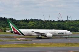 T.Sazenさんが、成田国際空港で撮影したアリタリア航空 777-2Q8/ERの航空フォト(飛行機 写真・画像)
