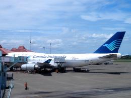 yabyanさんが、スカルノハッタ国際空港で撮影したガルーダ・インドネシア航空 747-441の航空フォト(飛行機 写真・画像)