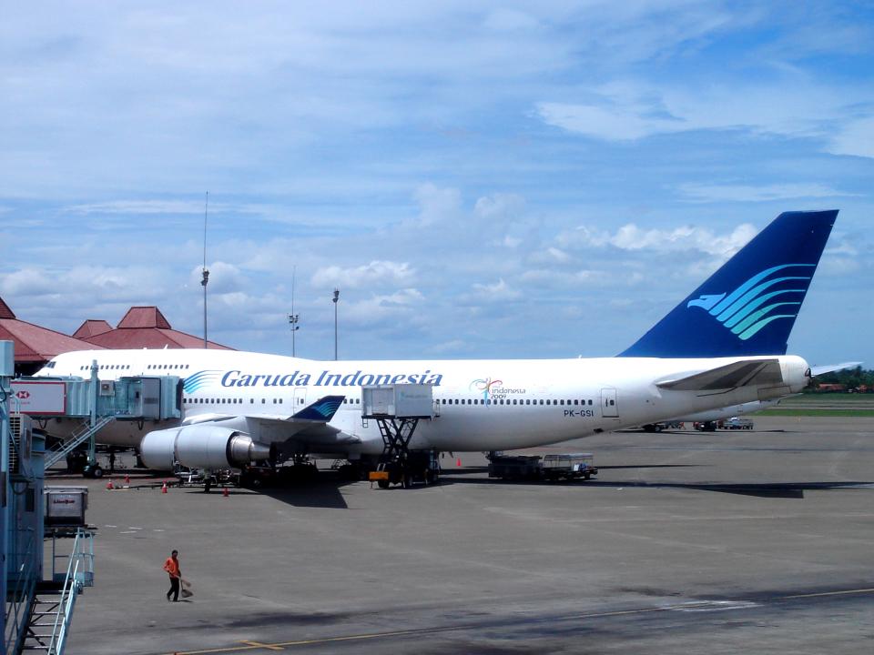 yabyanさんのガルーダ・インドネシア航空 Boeing 747-400 (PK-GSI) 航空フォト