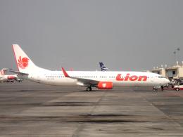 yabyanさんが、スカルノハッタ国際空港で撮影したライオン・エア 737-9GP/ERの航空フォト(飛行機 写真・画像)