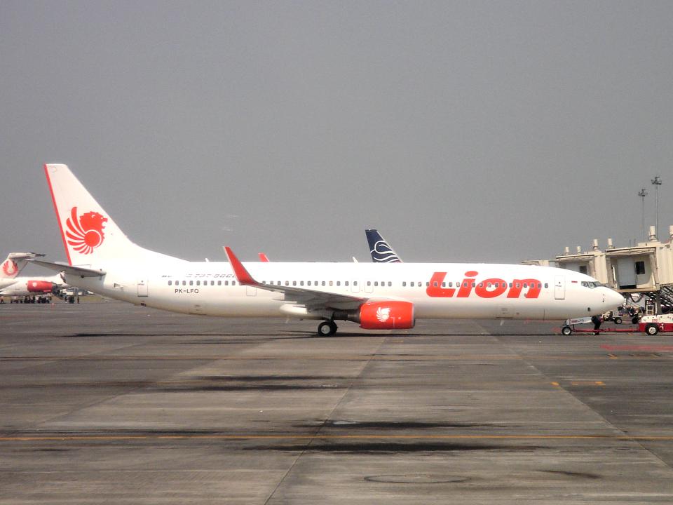 yabyanさんのライオン・エア Boeing 737-900 (PK-LFQ) 航空フォト