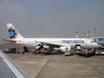yabyanさんが、スカルノハッタ国際空港で撮影したマンダラ・エアラインズ A320-232の航空フォト(飛行機 写真・画像)