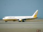 yabyanさんが、香港国際空港で撮影したロイヤルブルネイ航空 767-33A/ERの航空フォト(飛行機 写真・画像)